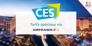 Tarifs négociés pour le CES 2019 avec Air France