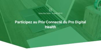 Prix Connecté – Pro Digital Health