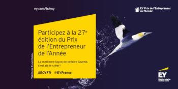 Appel à candidature Prix EY de la Start-up de l'Année 2019