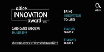 Altice International Innovation Award 2019