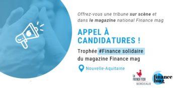 Appel à candidatures – Trophée #Finance Solidaire