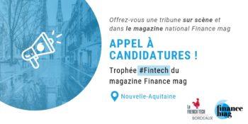 Appel à candidatures – Trophée #Fintech