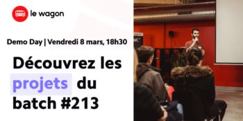 Demo Day du batch #246 – Le Wagon Bordeaux