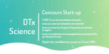 Concours Start – up – DTx Science