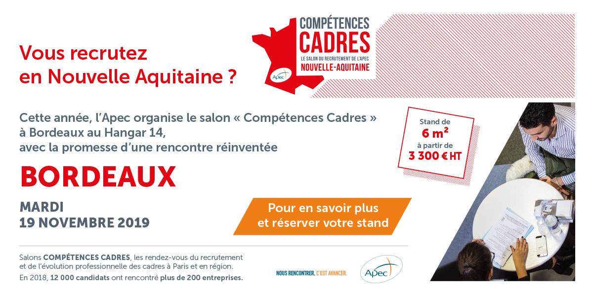 Salon competences cadres bordeaux french tech bordeaux - Salon professionnel bordeaux ...